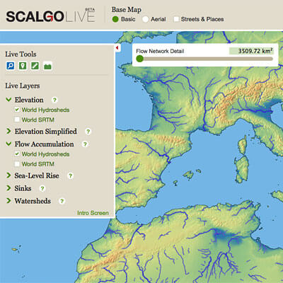 SCALGO Live Global Interface